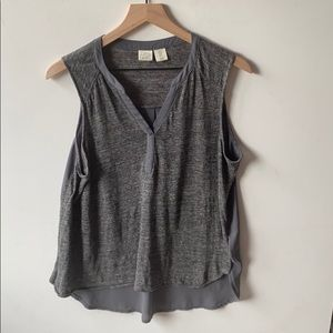 Anthropologie Lucy & Laurel sleeveless Top, Size M